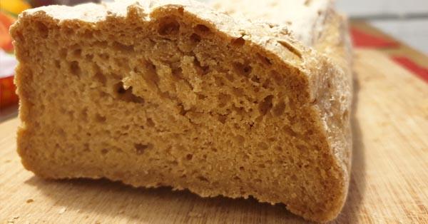Glutenfreies Brot mit Teff